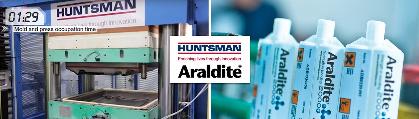 Huntsman Araldite industrial adhesives